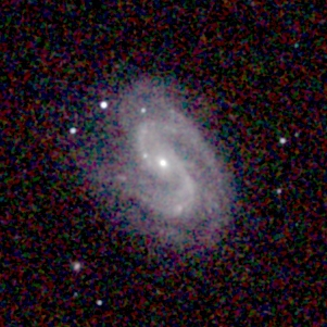 Depiction of NGC 157