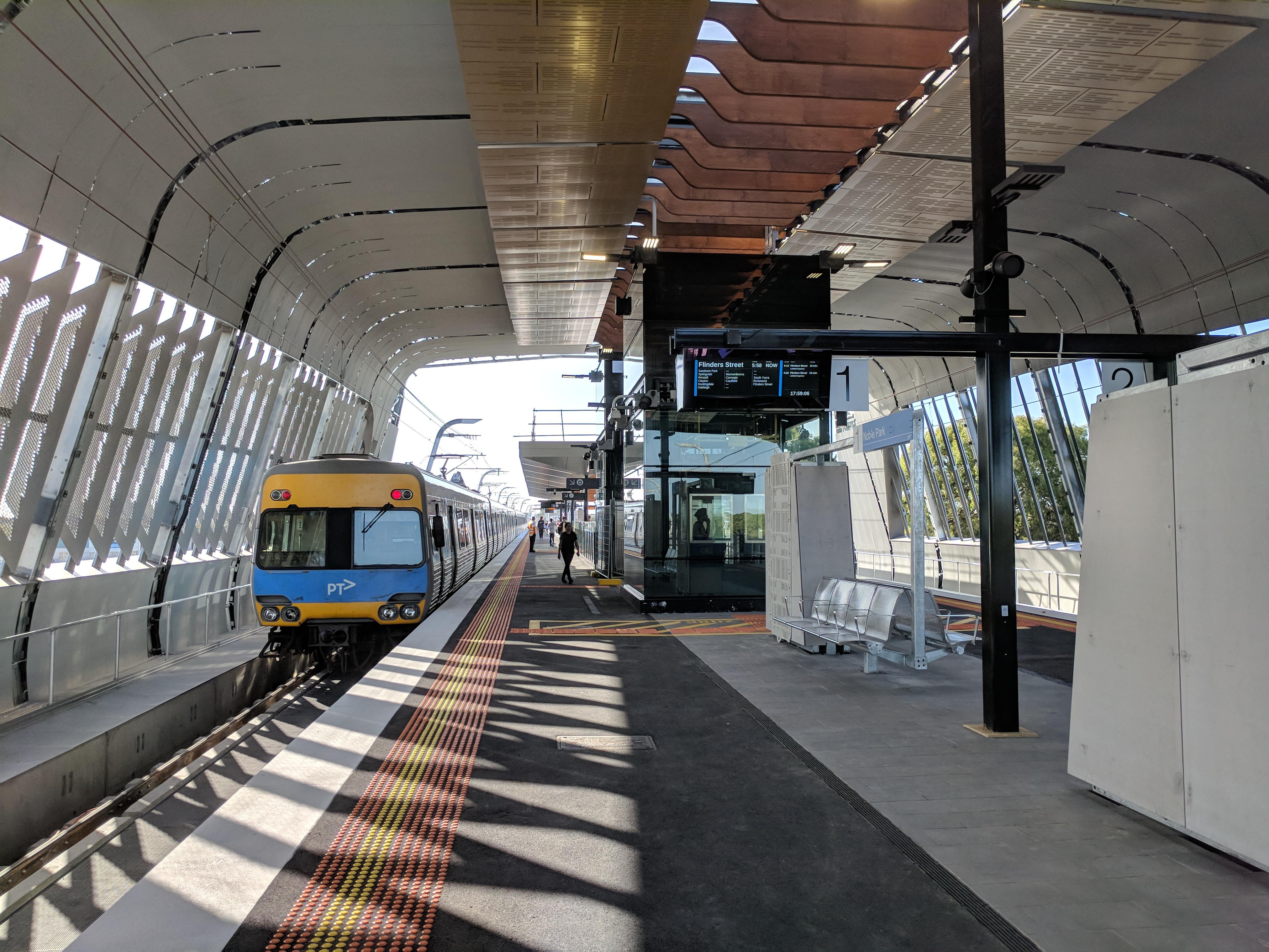 Noble Park Railway Station Wikipedia