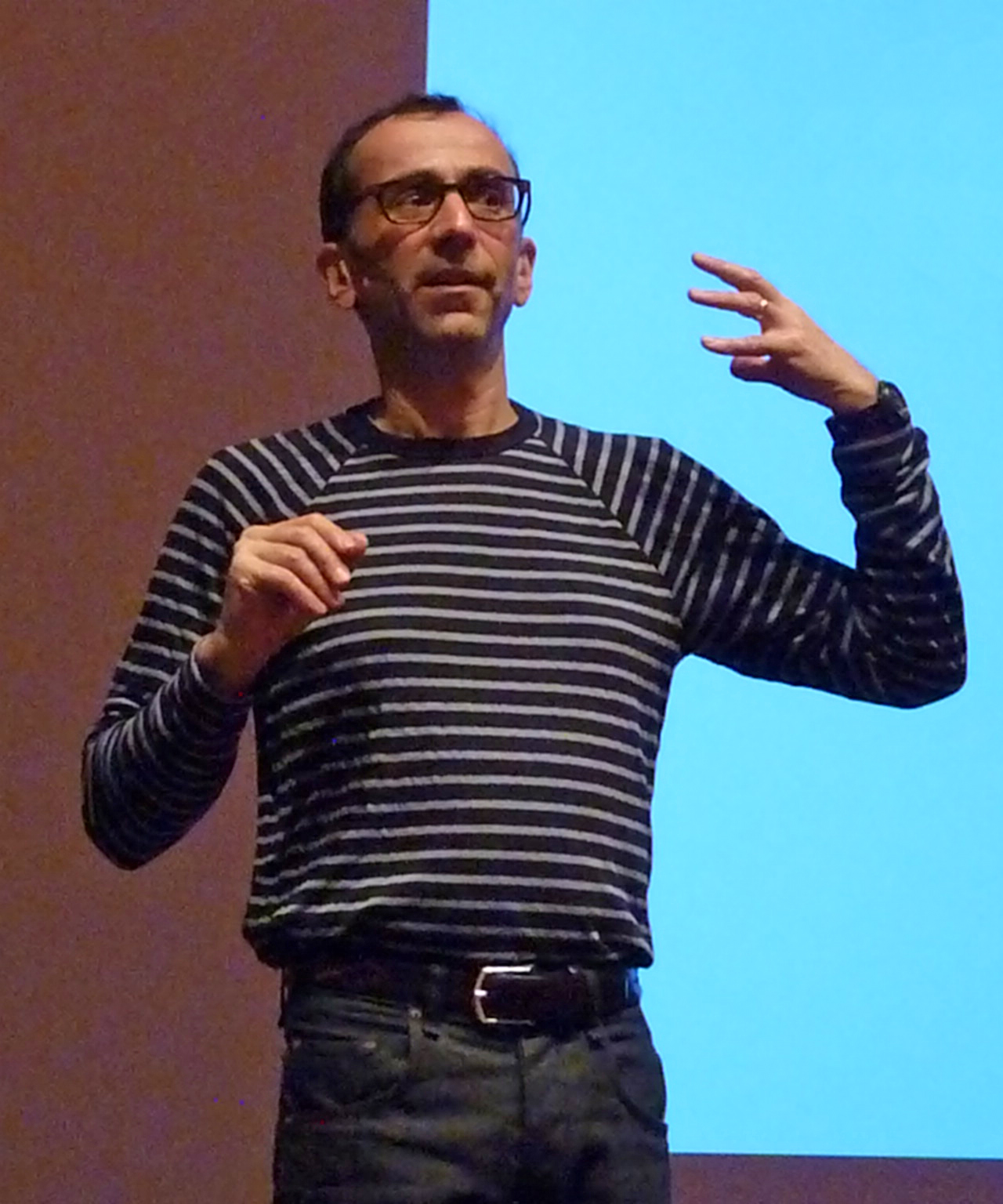 Nicholas Mirzoeff in 2012
