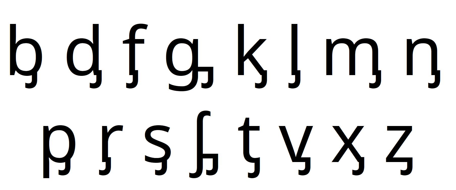 Fileobsolete Ipa Symbols Letters With Left Hookg Wikimedia
