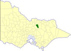 Shire of Violet Town Local government area in Victoria, Australia