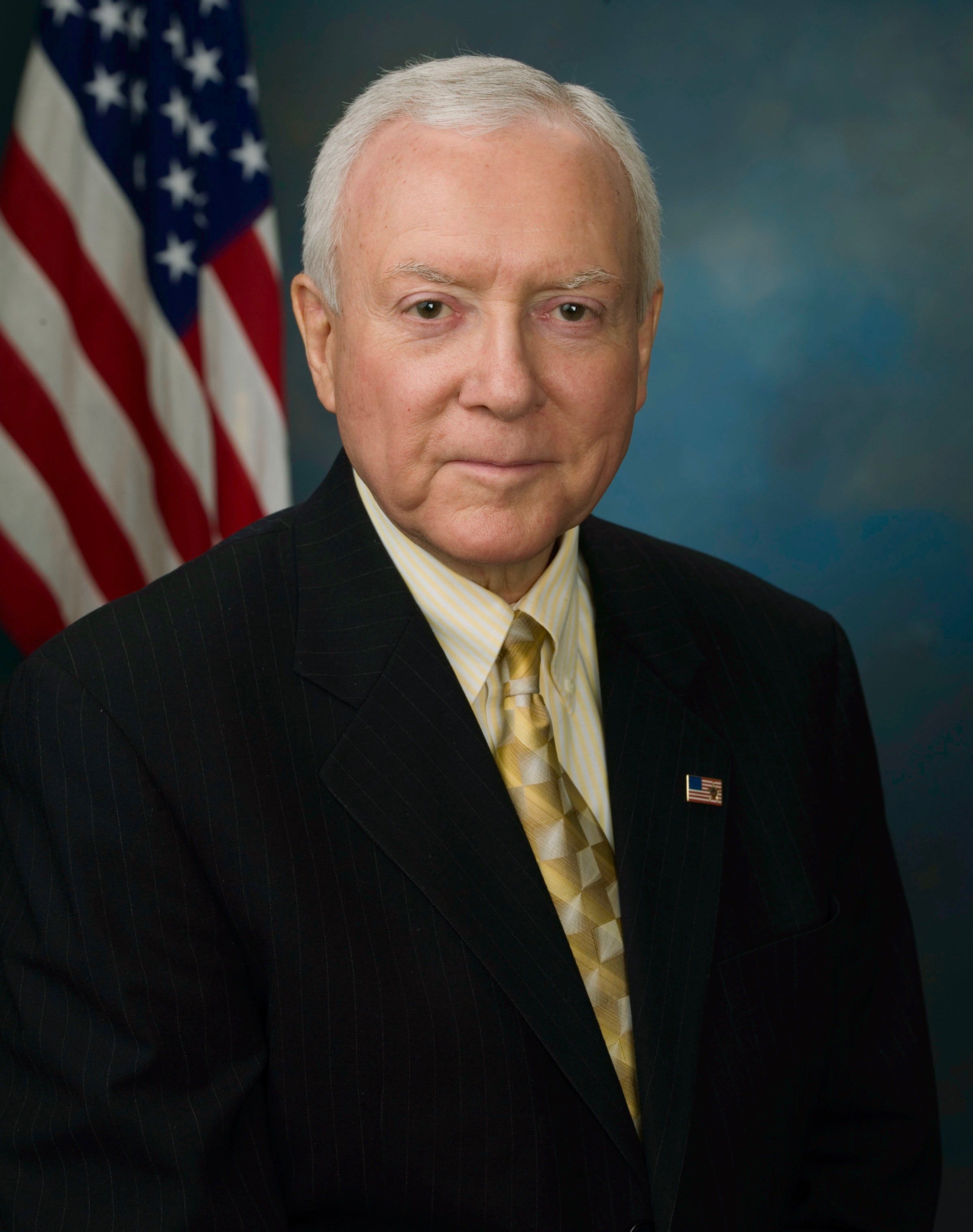 Senator Orrin Hatch from Wikipedia (Public Domain)