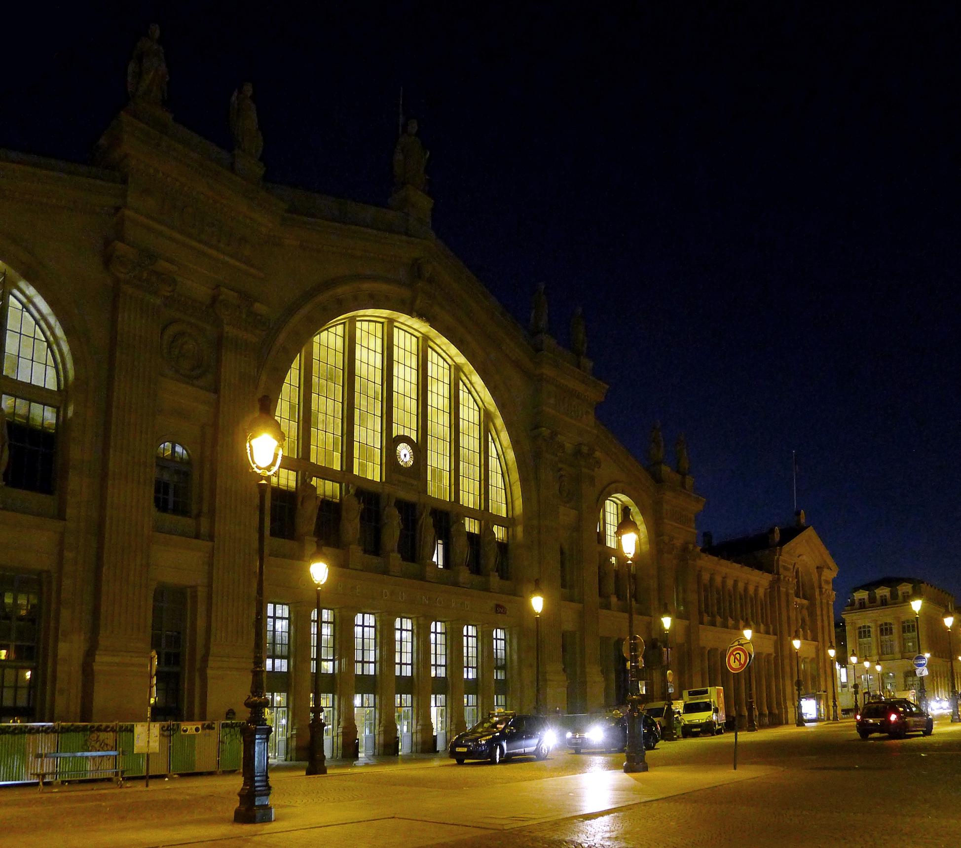 Visiting the gare du nord paris france beaux arts for Gare du nord paris