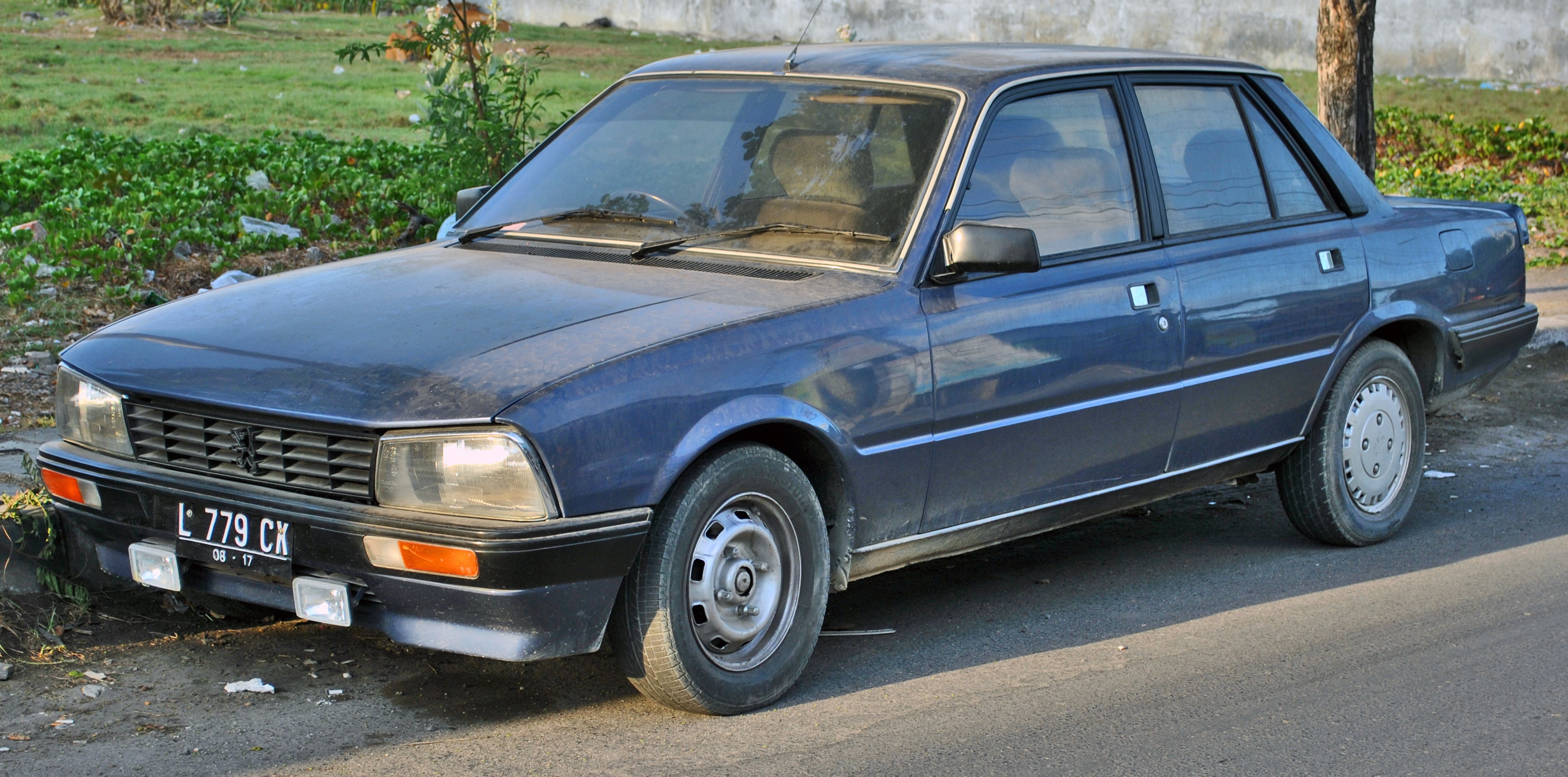 file peugeot 505 gti automatic front wikimedia commons. Black Bedroom Furniture Sets. Home Design Ideas