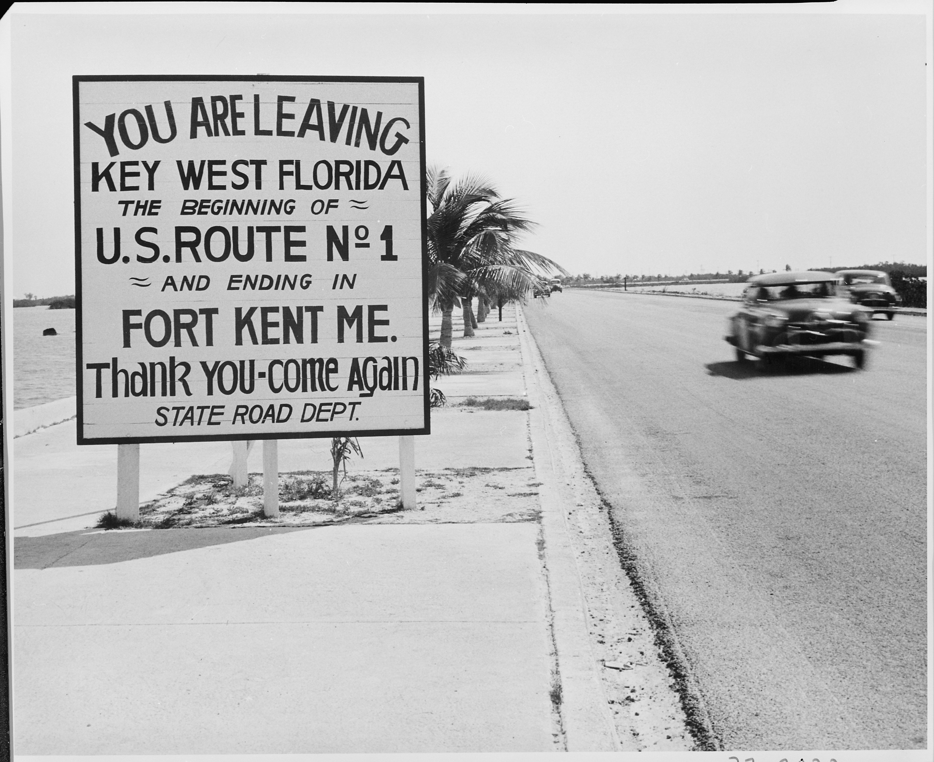 1950s Road Signs