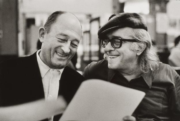 Vinicius con Pierre-Seghers.