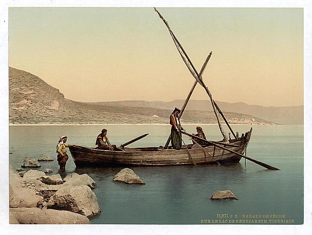 דייגים בכינרת - ראשית המאה ה20