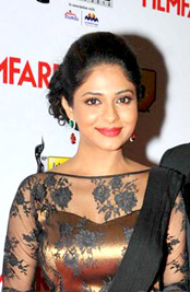 Poornima at 60th Filmfare Awards South (cropped).jpg