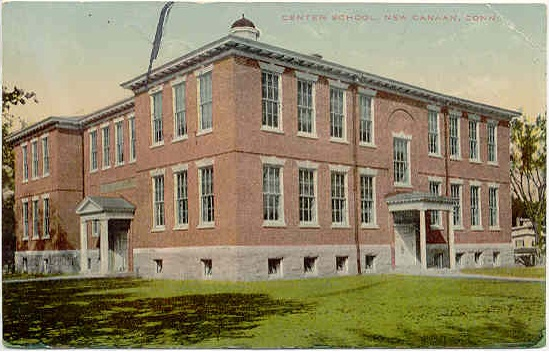 Center School, ca. 1912 (now demolished)