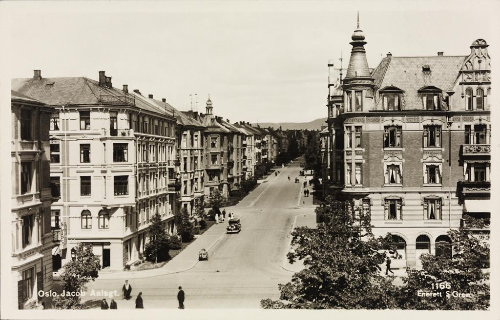 Wonderful File:Postkort. Jacob Aalls gate.jpg - Wikimedia Commons YB-74