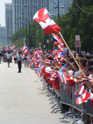 English: Puerto Rican Day Parade in Paseo Bori...