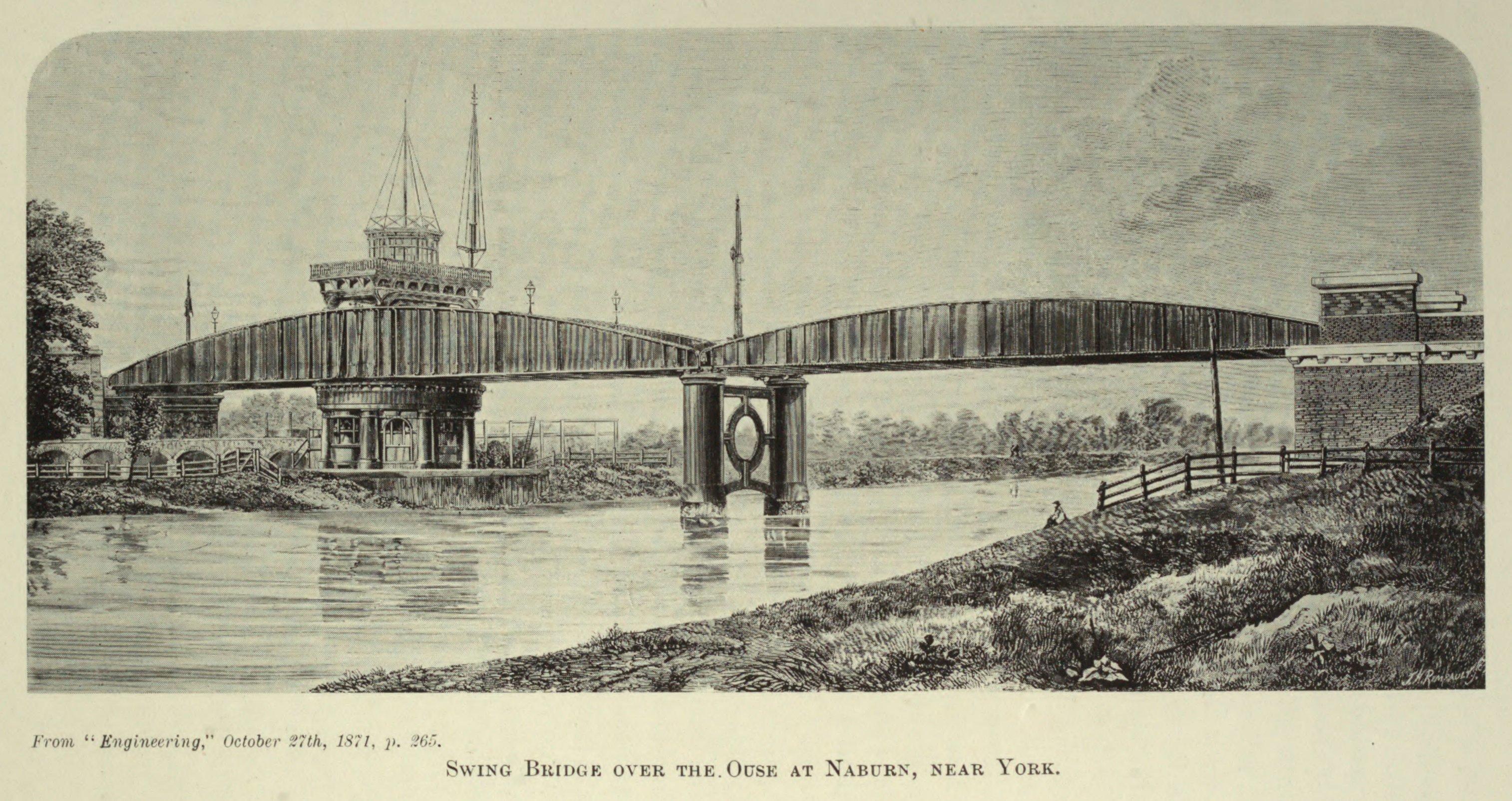 File Railway Swing Bridge Naburn Jpg Wikimedia Commons