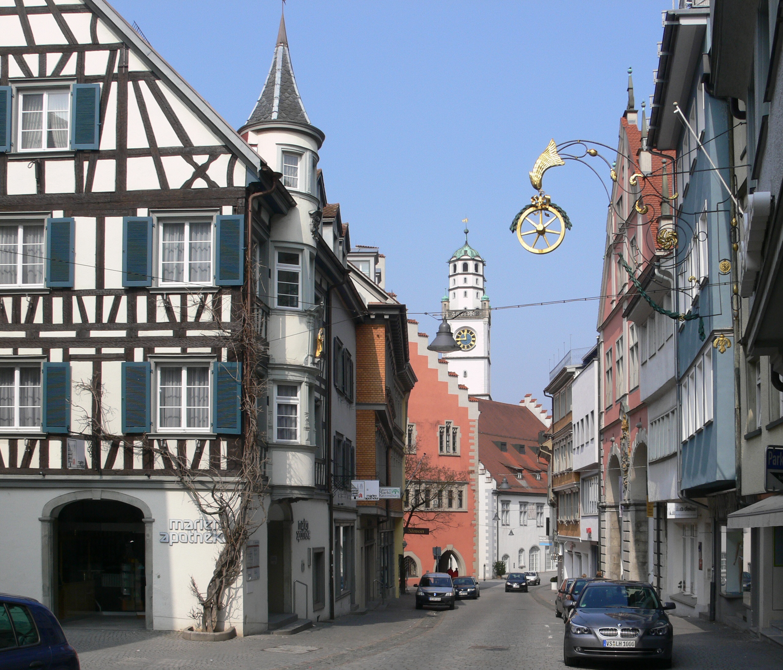 File:Ravensburg Marienapotheke Marktstraße.jpg - Wikimedia ...
