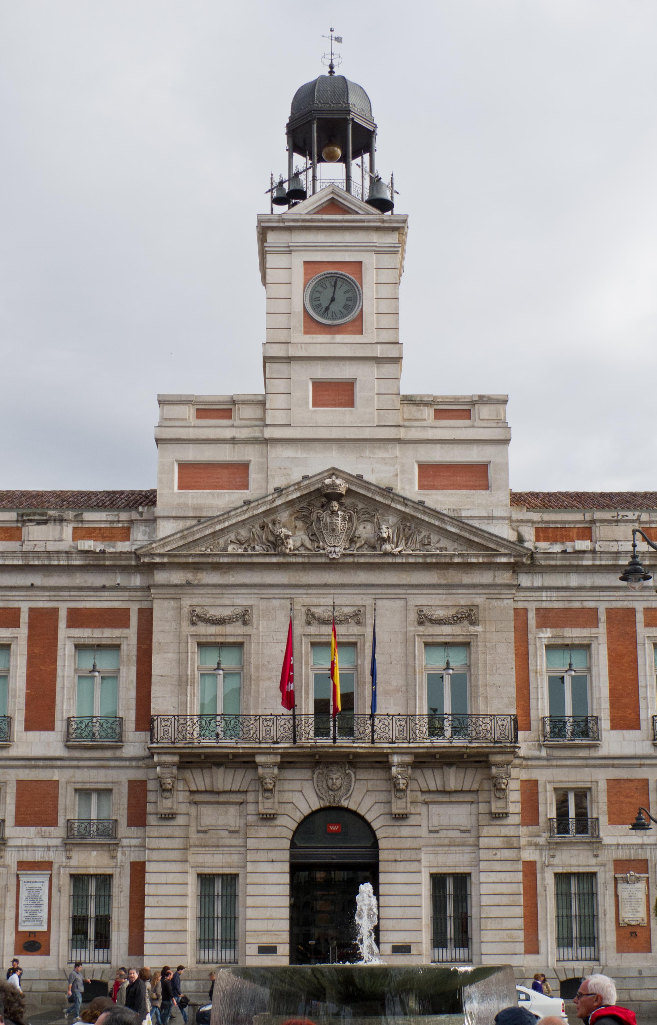 File real casa de correos wikimedia commons for Casa de correos madrid