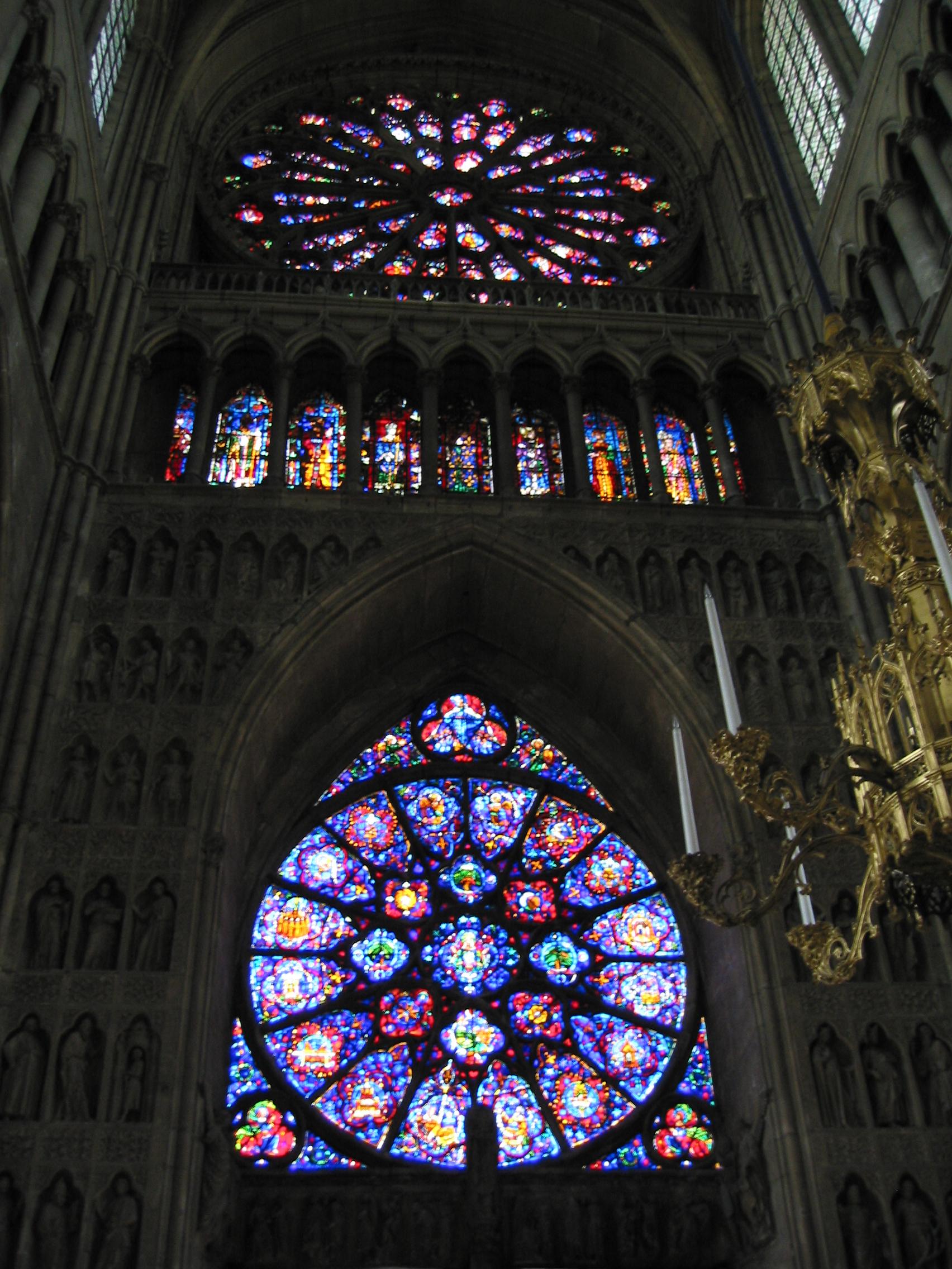 El vitral o vitraux taringa - Vidrieras de colores ...