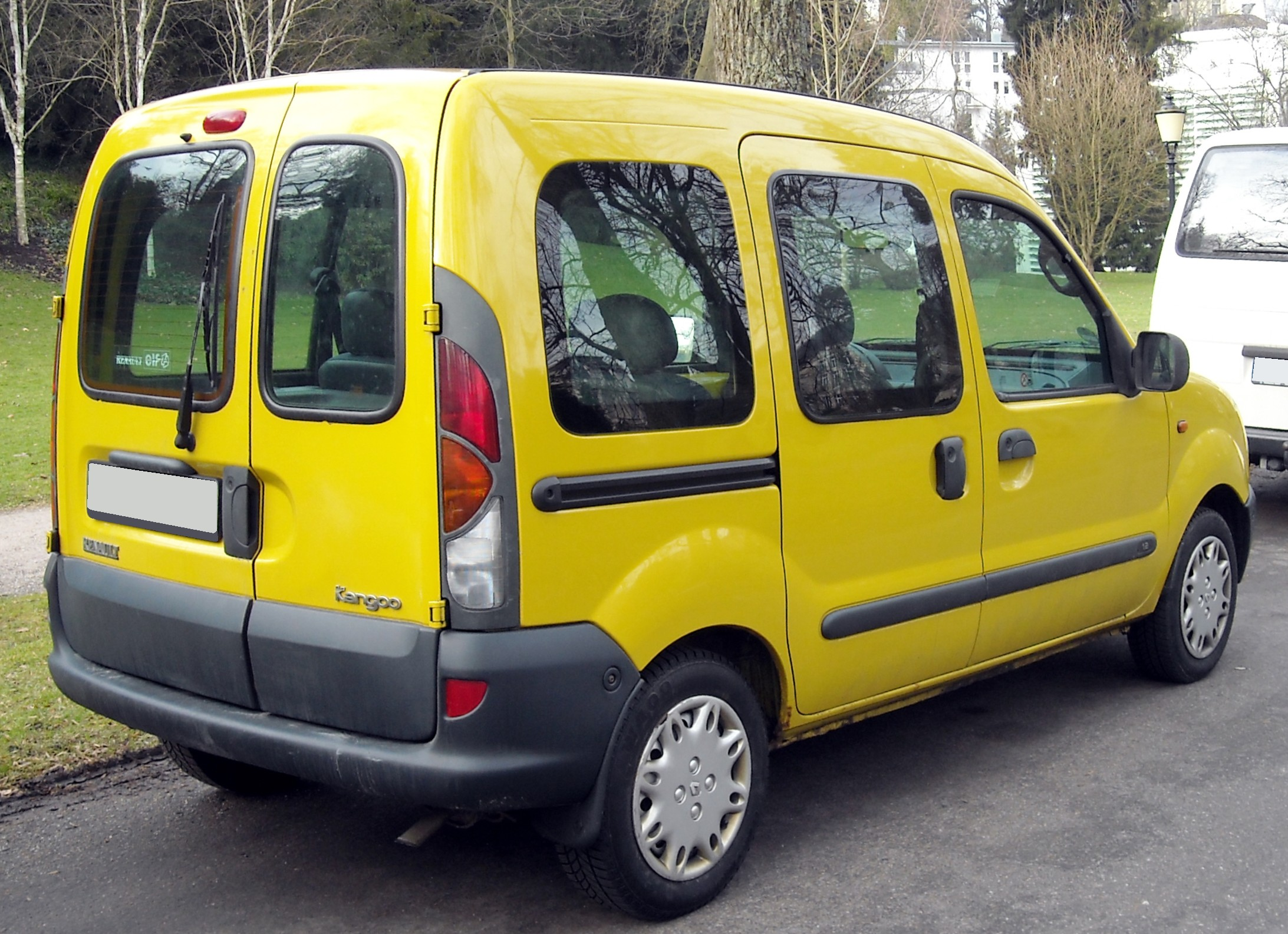 file renault kangoo i rear wikimedia commons. Black Bedroom Furniture Sets. Home Design Ideas