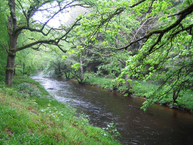 River Teign - geograph.org.uk - 439004