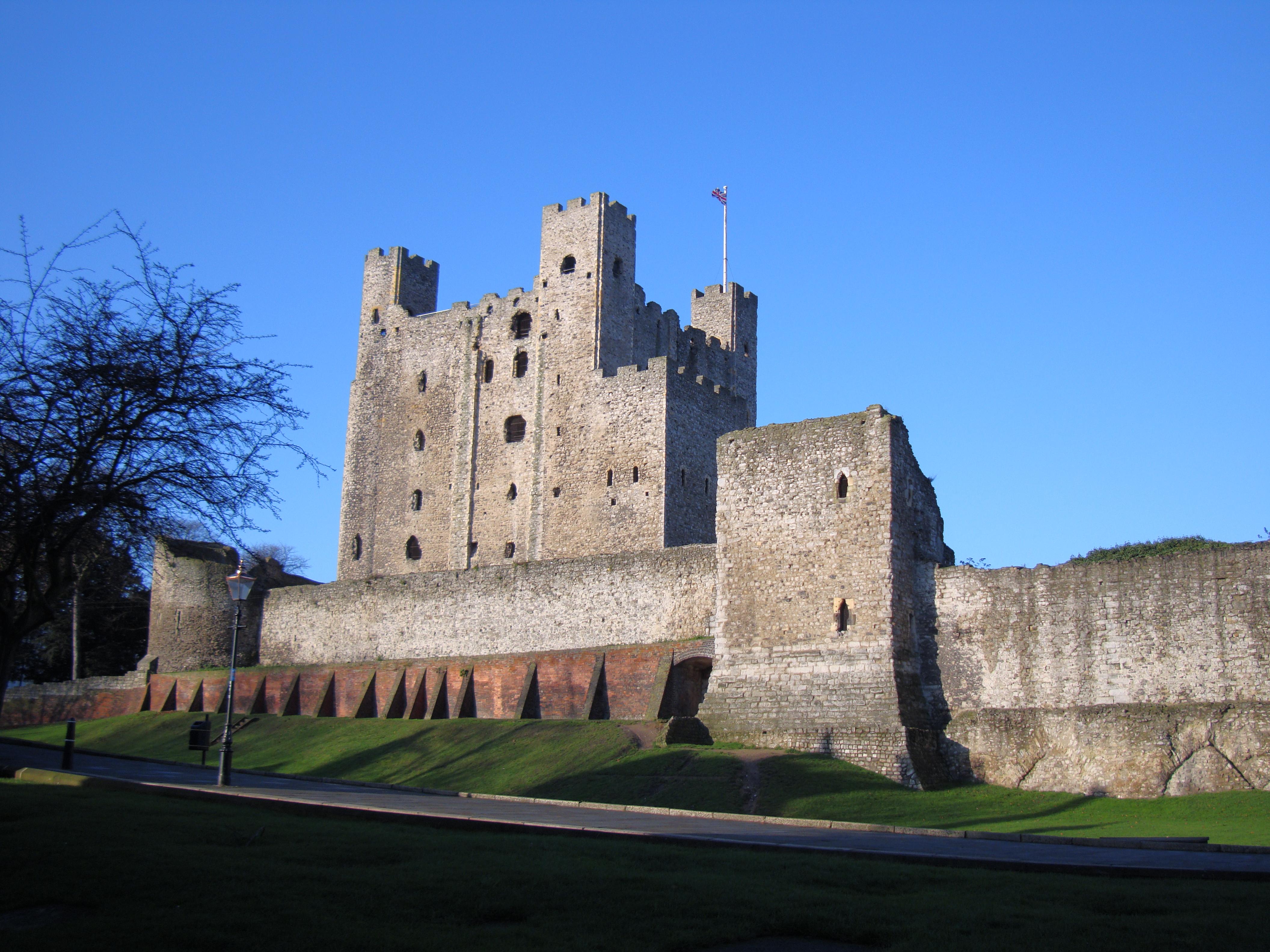 File Rochestercastle Jpg Wikimedia Commons