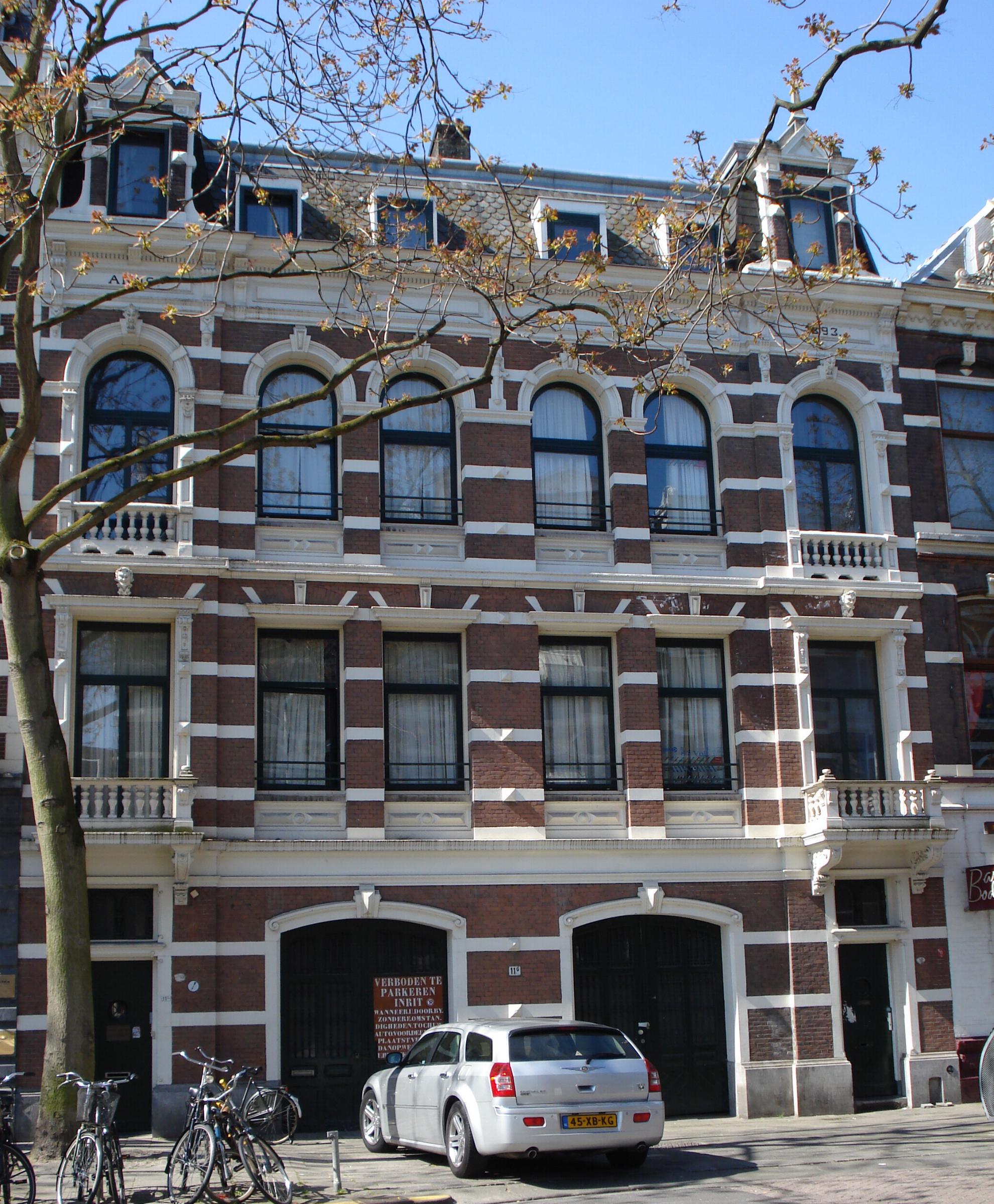 Dubbel bedrijfspand annex woonhuis in neo renaissancestijl for Woonhuis rotterdam