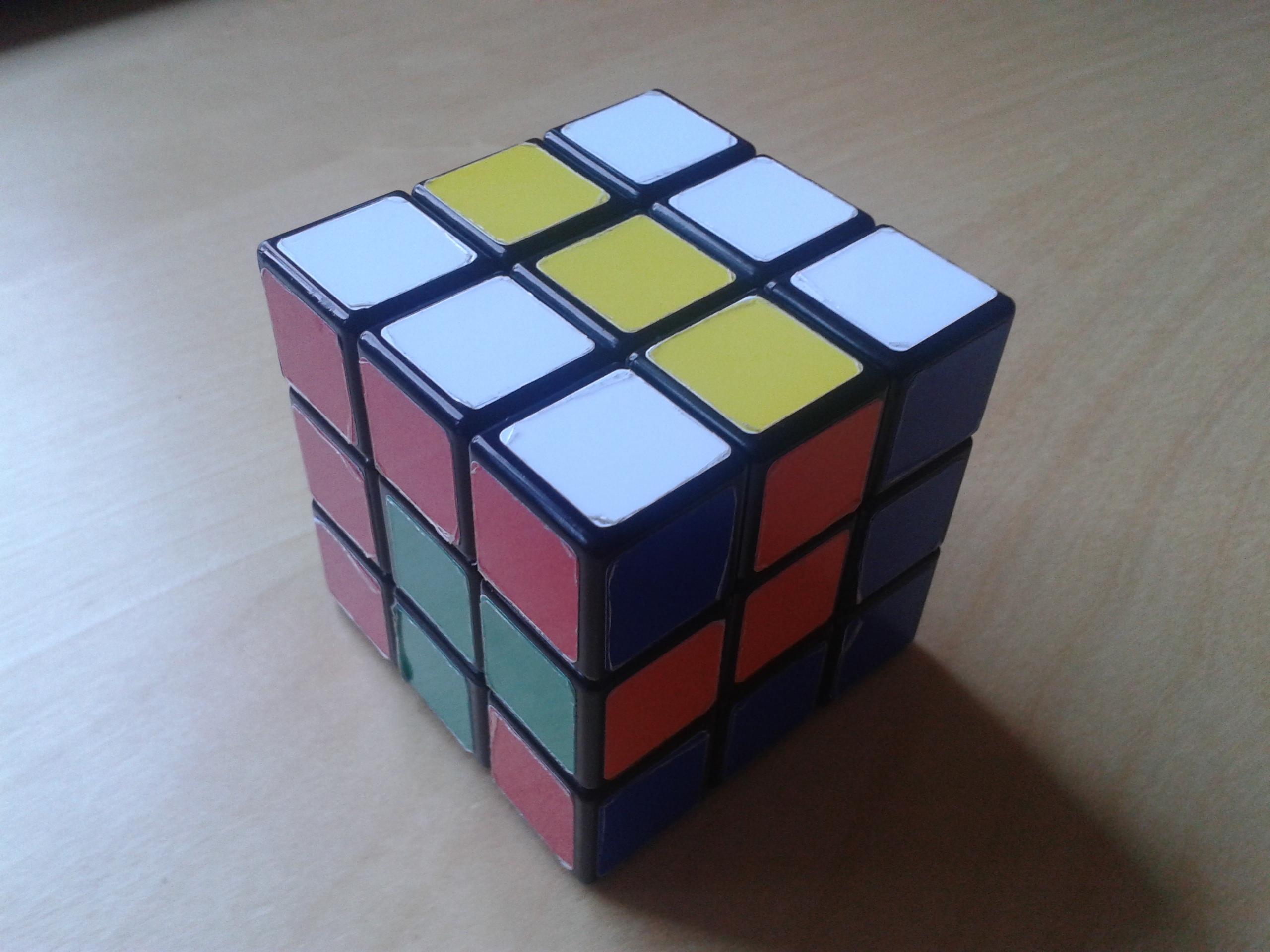 Cool Rubik's Cube Patterns Simple Ideas