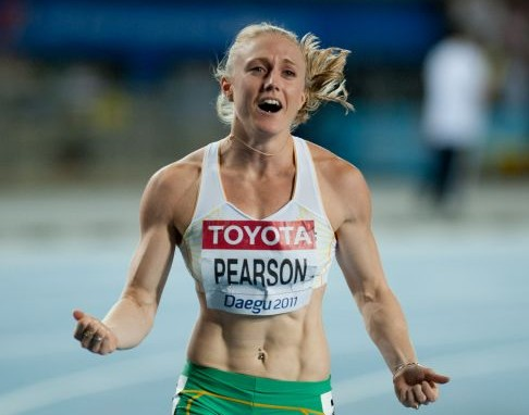 Sally Pearson Daegu 2011-2