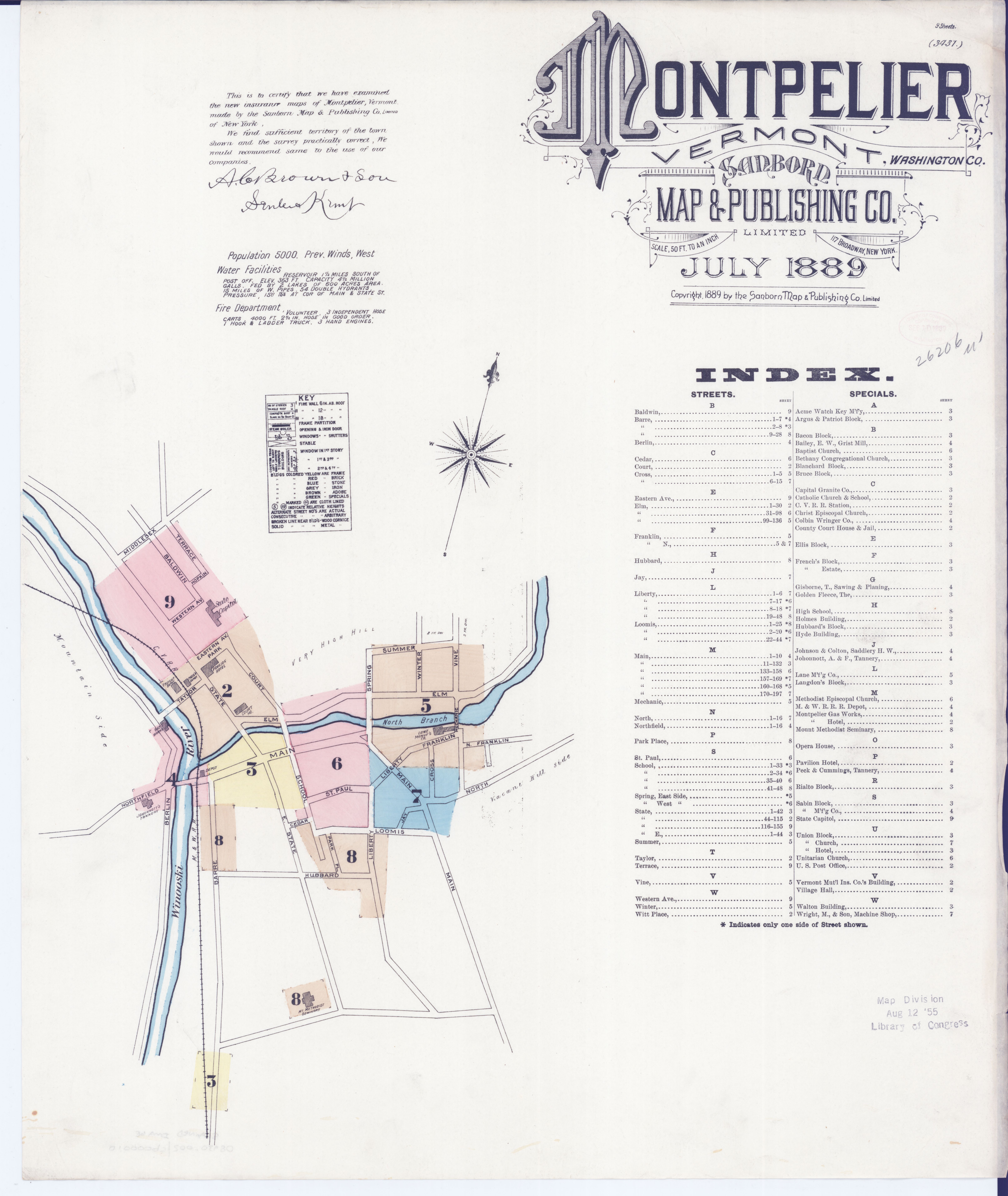 File Sanborn Fire Insurance Map From Montpelier Washington County