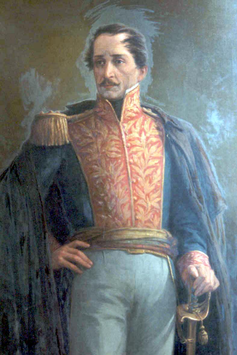 Bolivar, Padre Libertador. Bicentenario - Página 17 Santander_by_Acevedo_Bernal