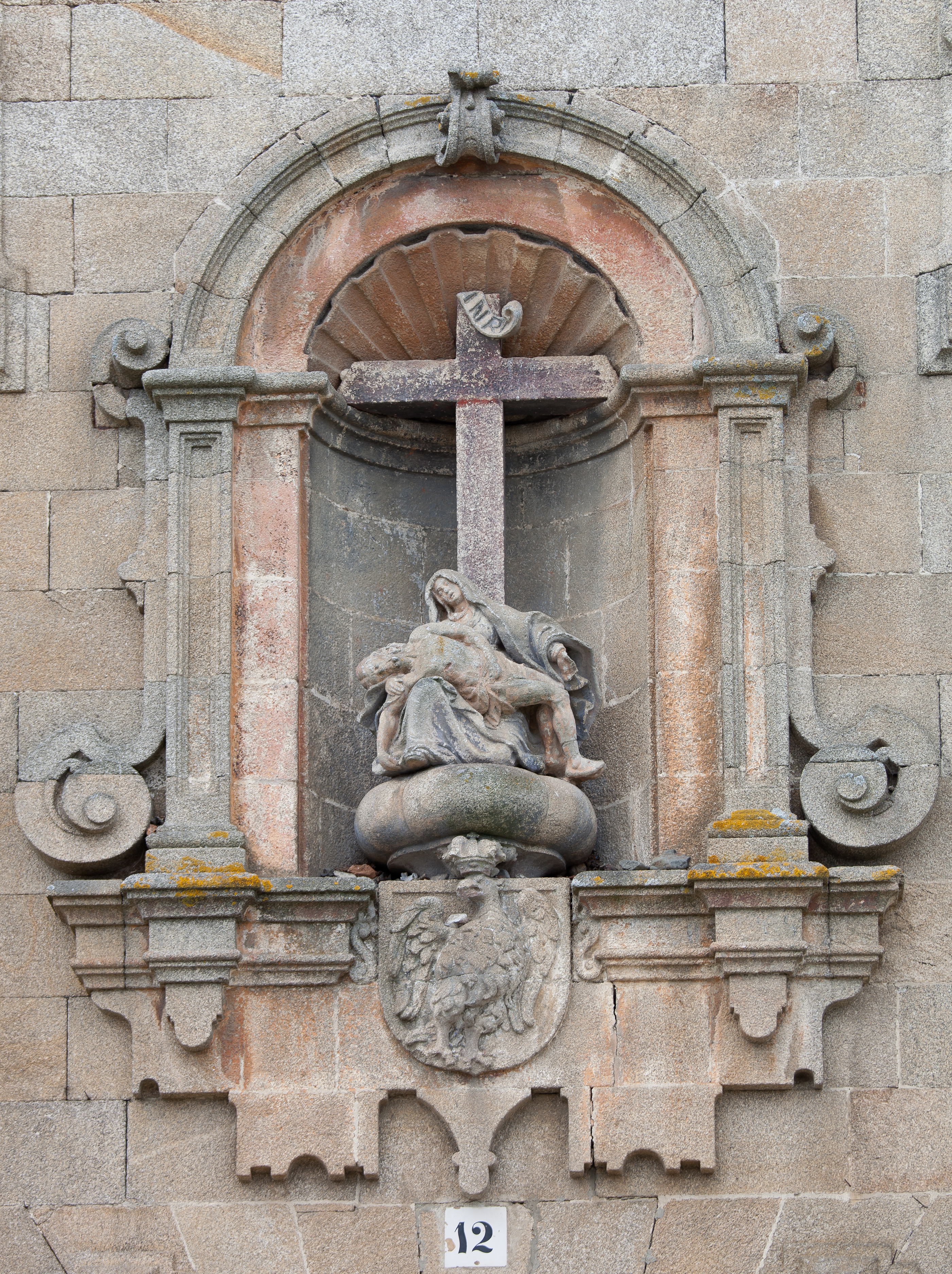 Sanctuary of A Angustia, Betanzos, Galicia (Spain)