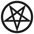 An inverted pentacle, symbol of Satanism. Oppo...