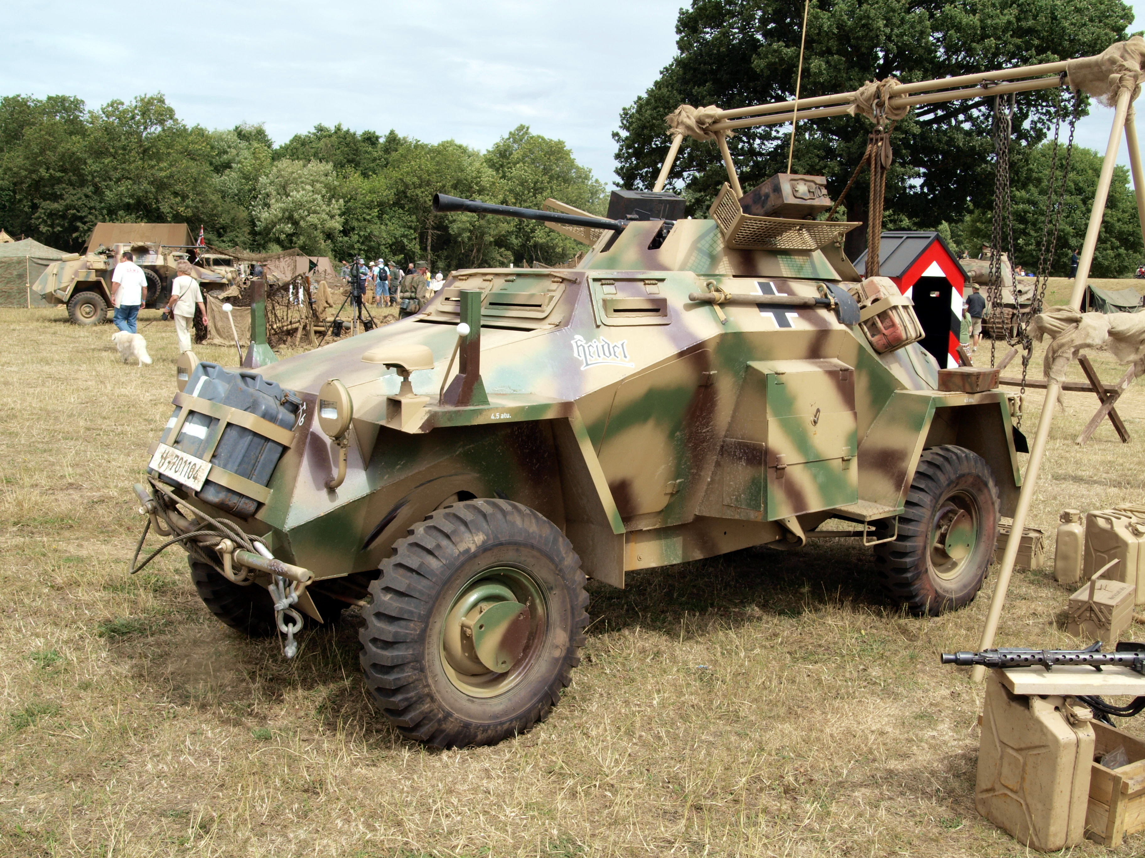B Armored Car For Sale
