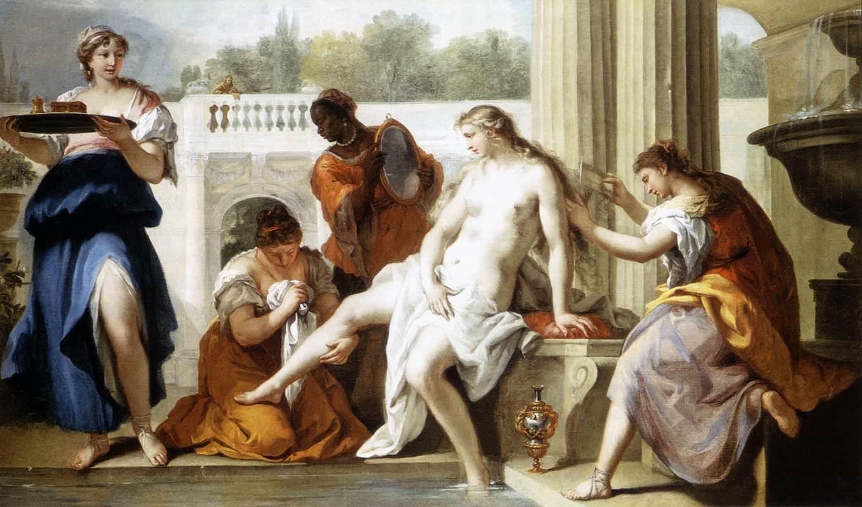 Image result for sebastiano ricci bathsheba at the bath