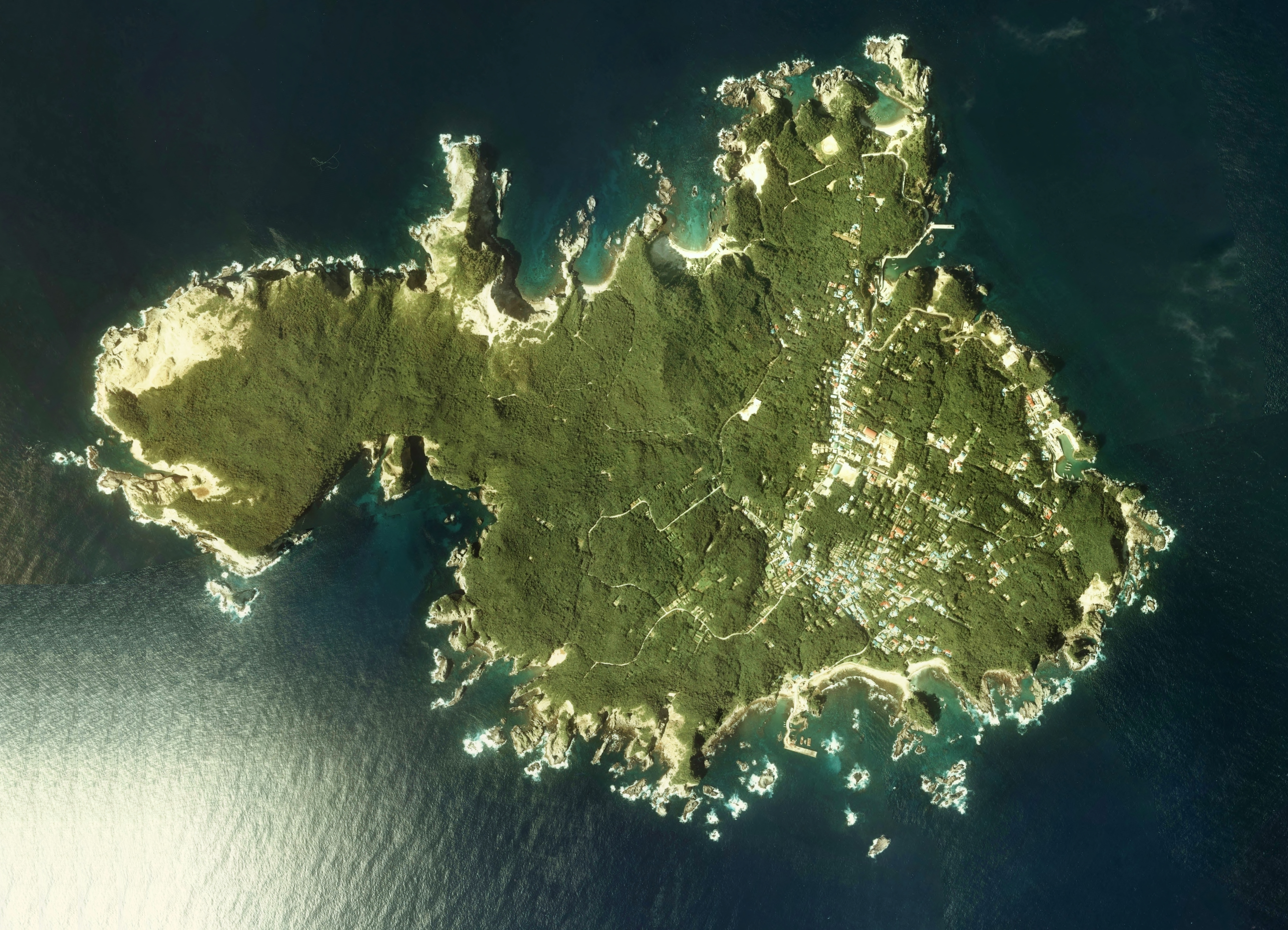 FileShikinejima Island Aerial photograph1978jpg Wikimedia Commons