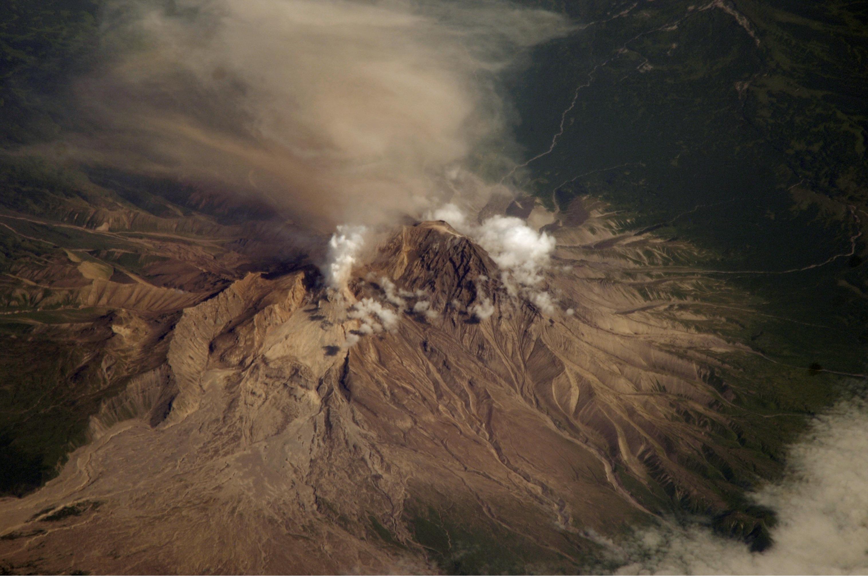 Извержение Шивелуч