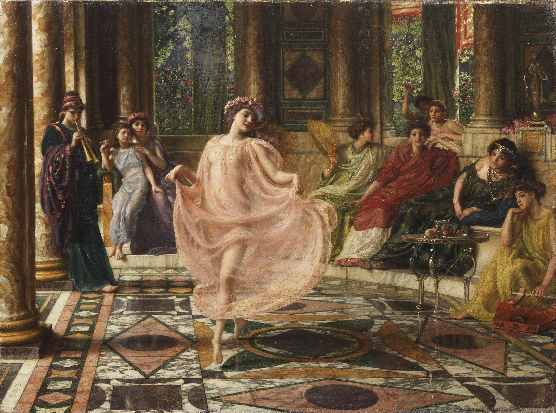 Сэр Ðдвард Джон Пойнтер - Ионический танец Motus doceri gaudet Ionicos, Matura virgo, et fingitur artibus.jpg