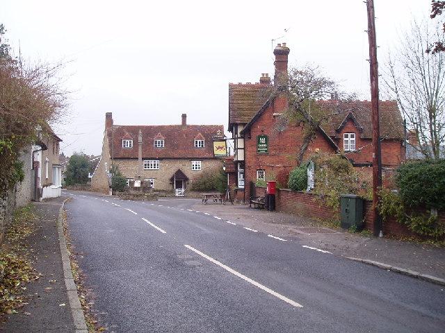 Stevington village centre - geograph.org.uk - 88066