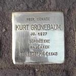 Stolperstein Alt-Rödelheim 38 Kurt Grünebaum