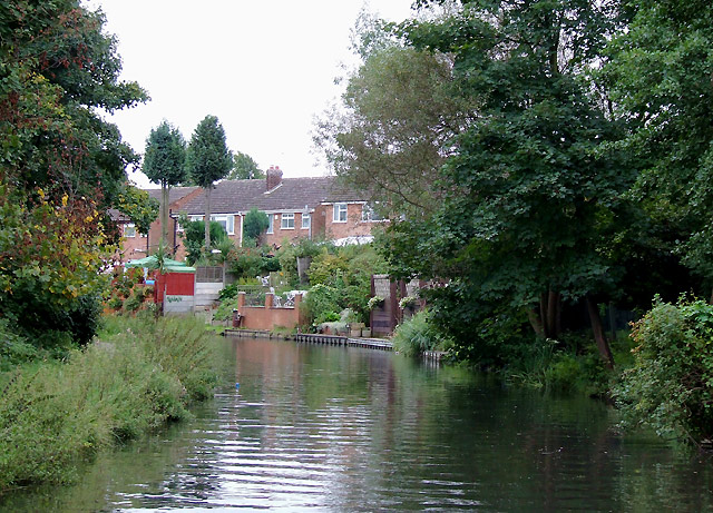 Stratford-upon-Avon Canal, Solihull Lodge - geograph.org.uk - 1725015