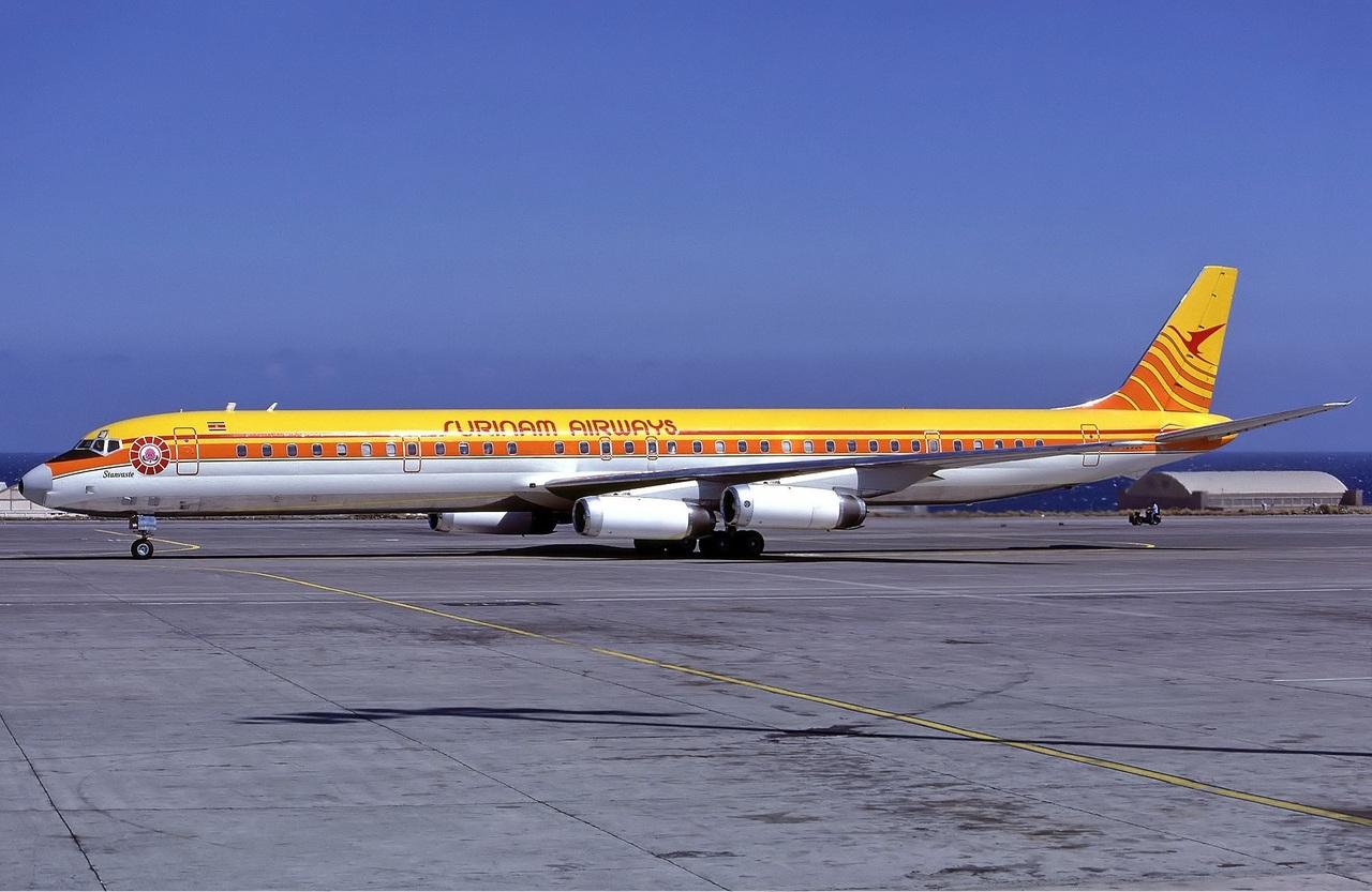 Resultado de imagem para DC-8 da Surinam Airways