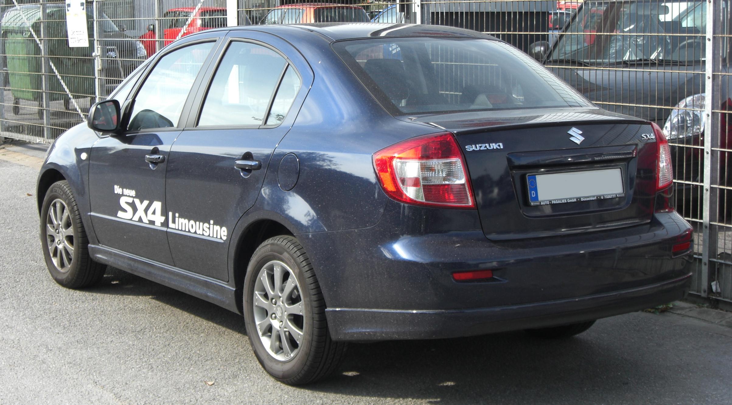 Suzuki Sx Sedan Review