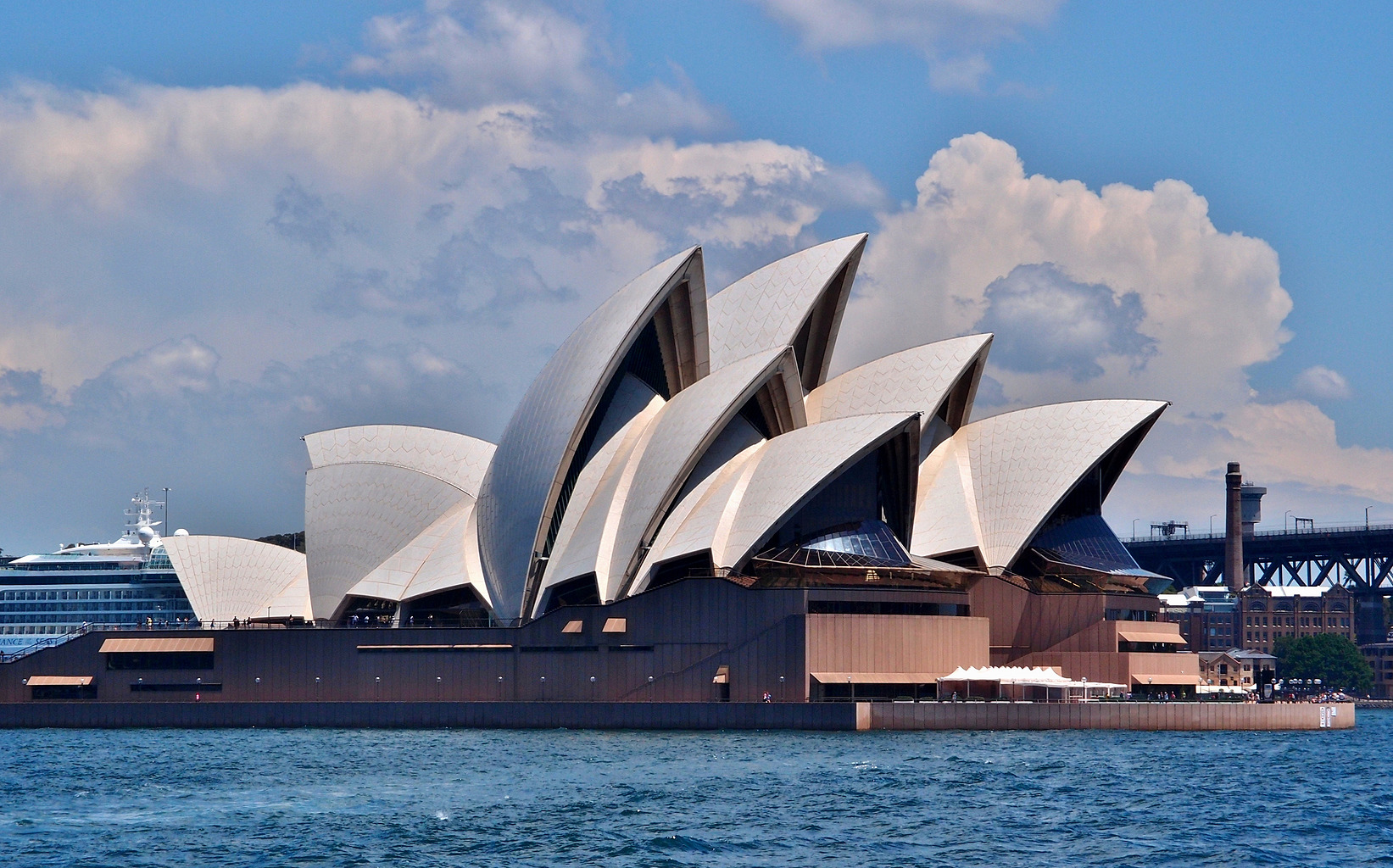 File:Sydney Opera House from the east.jpg - Wikimedia Commons