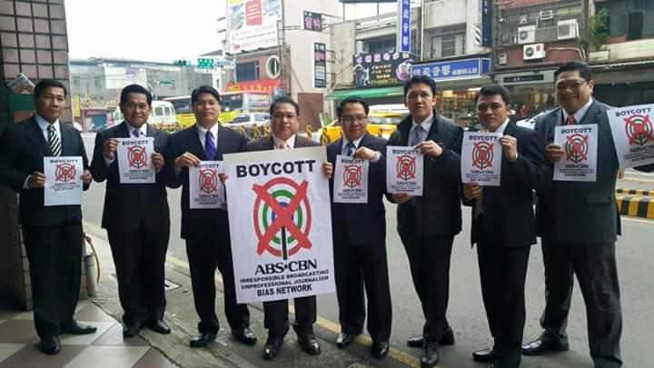 Image result for boycott abs cbn