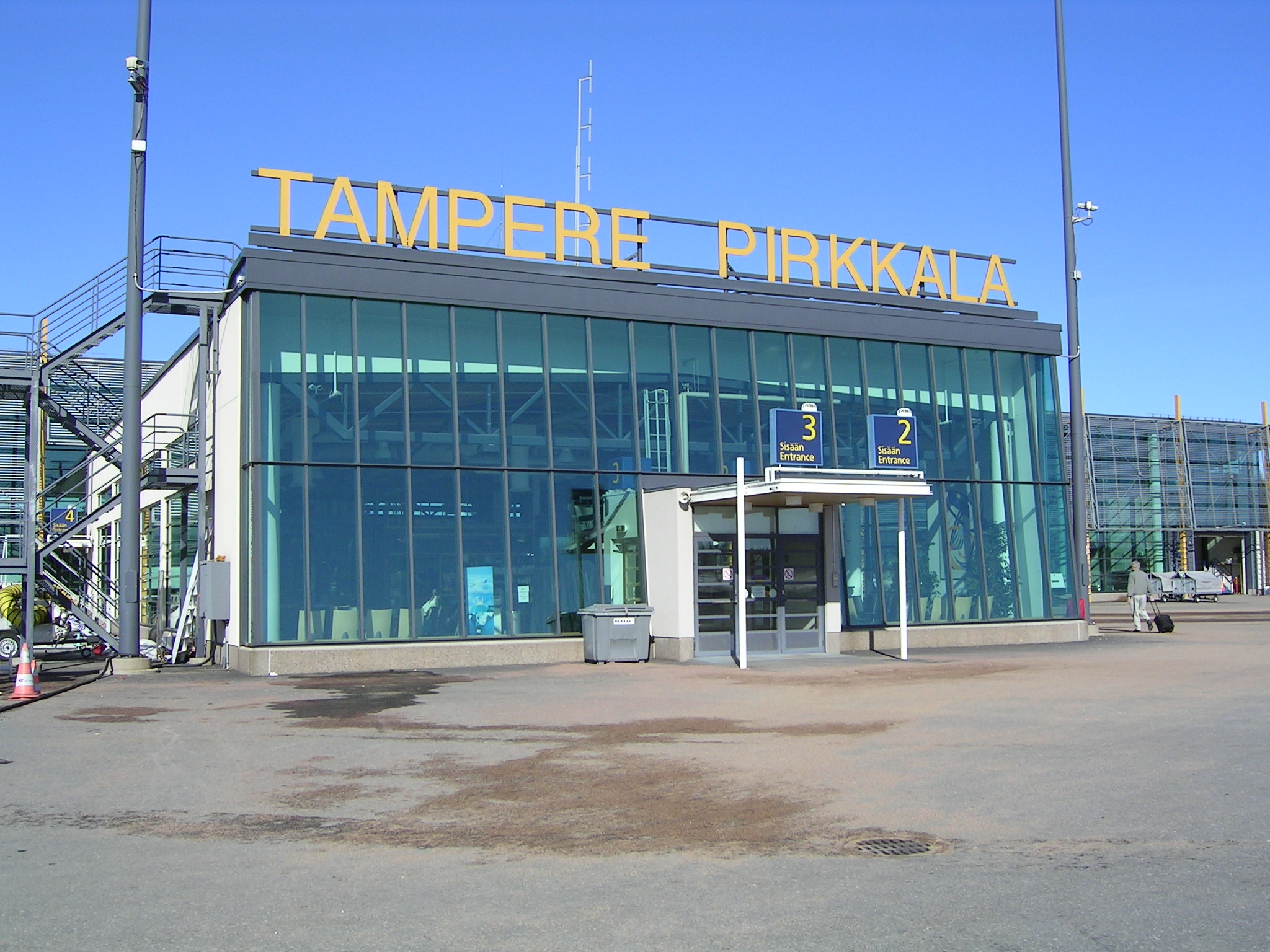 Tampere Finland  City pictures : Tampere Pirkkala Airport Finland Wikimedia Commons