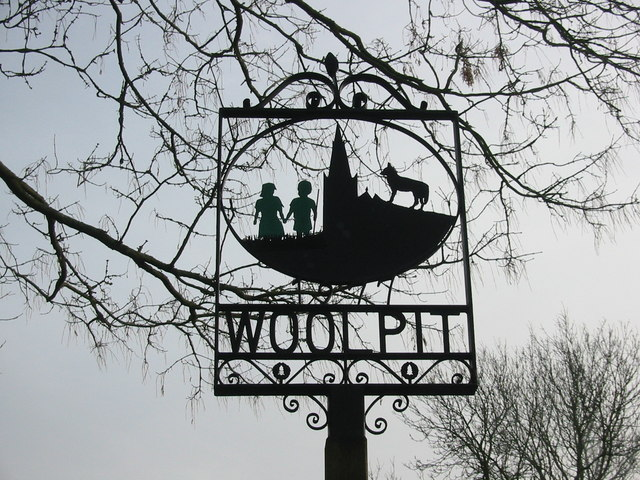 Woolpit village sign