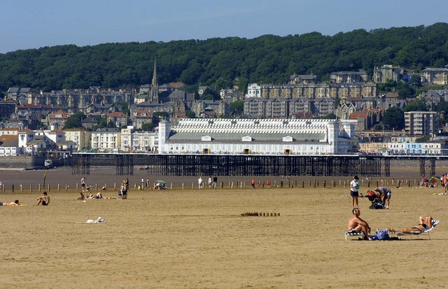 The Grand Pier at Weston Super Mare - geograph.org.uk - 1298991
