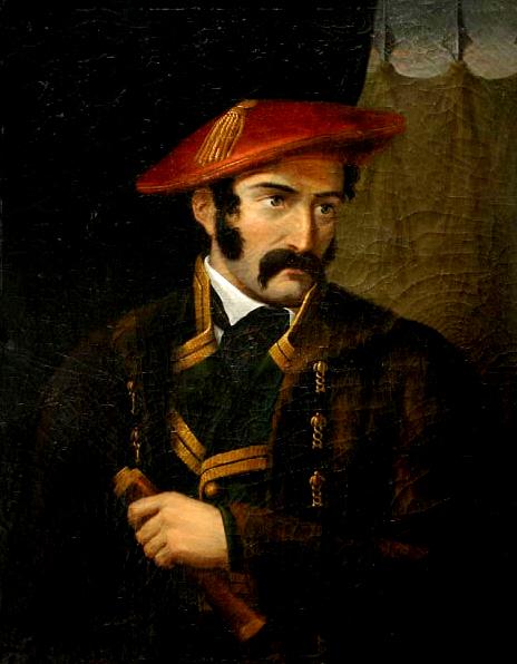 Tomás de Zumalacárregui (1836), por Adolphe Jean-Baptiste Bayot.