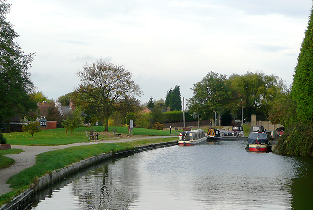 Trent and Mersey Canal at Willington Green, Derbyshire - geograph.org.uk - 1650898