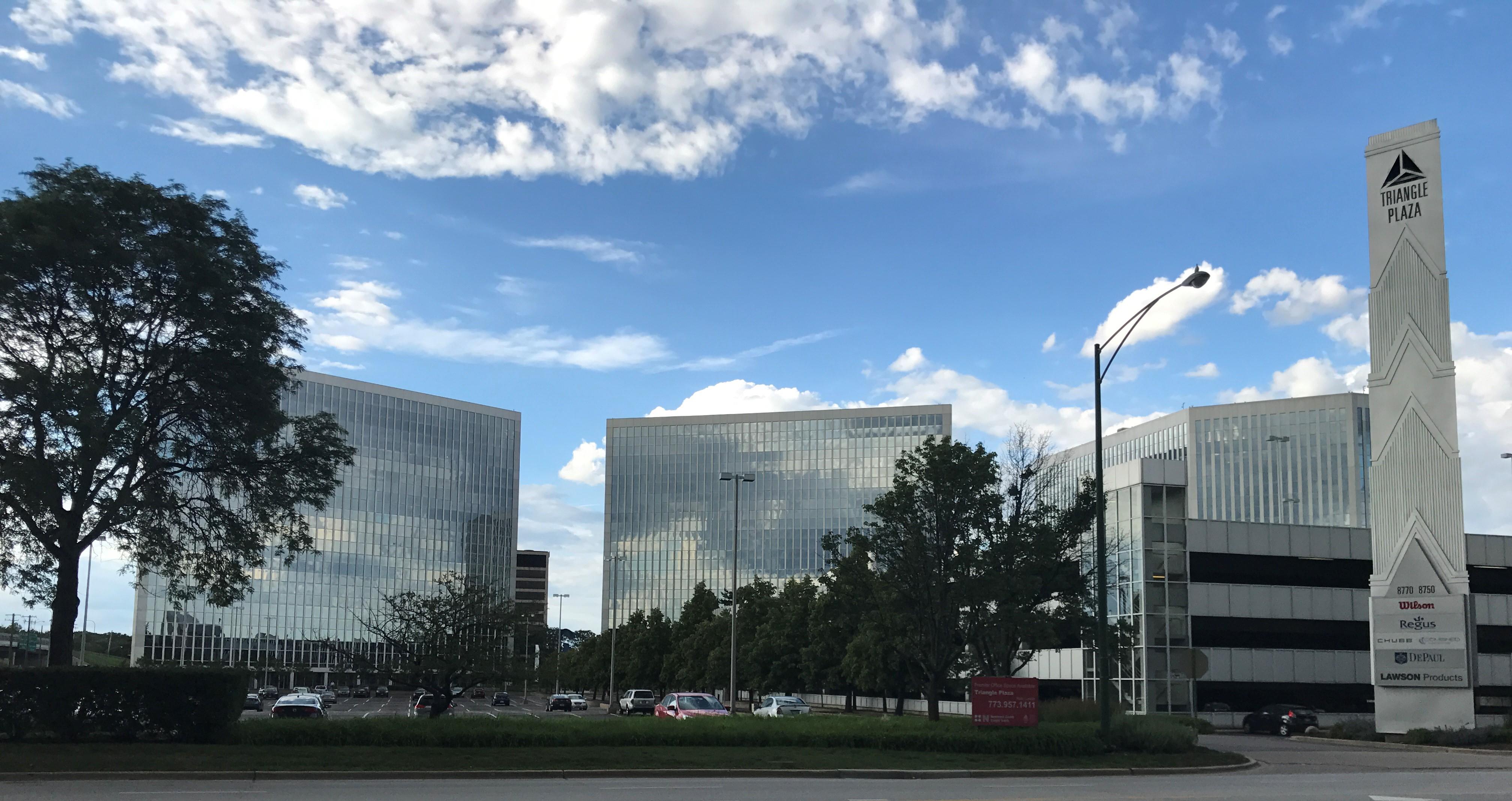 The Triangle Plaza corporate complex