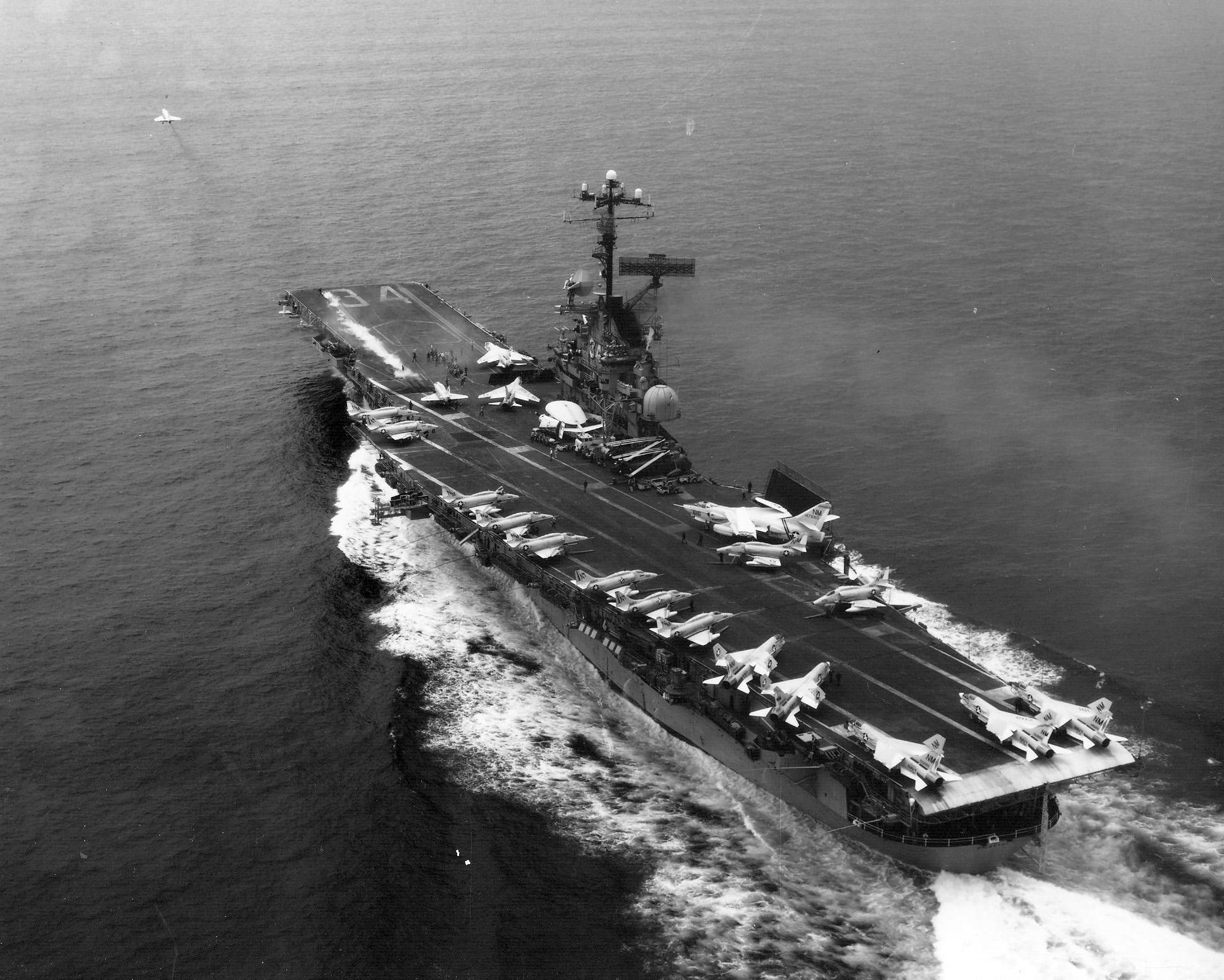 File:USS Oriskany (CVA-34) launches A-4 off Vietnam 1969
