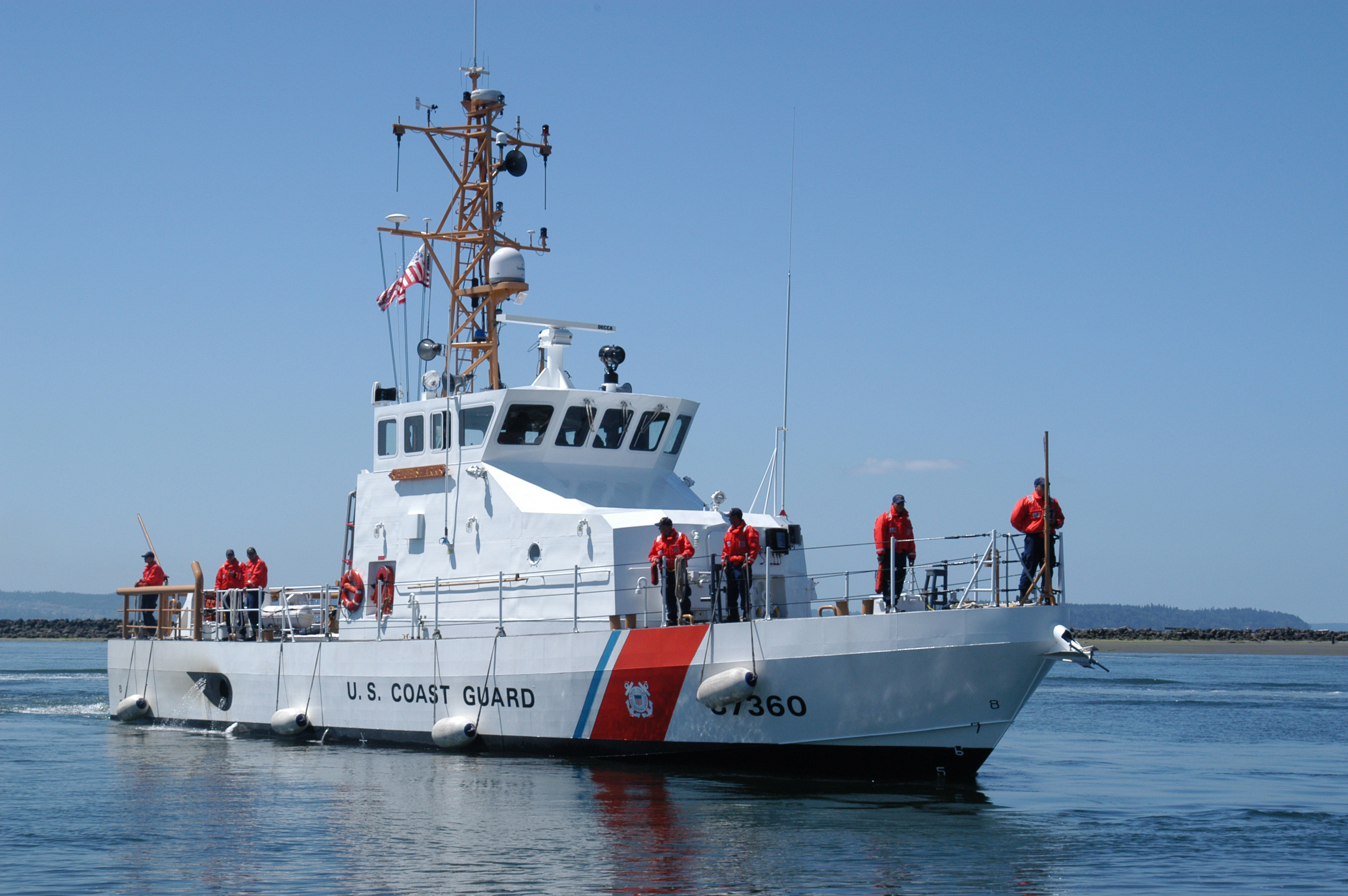 coast guard cutter decision problem Case 2: coast guard cutter decision problem you are the captain of a 200-foot coast guard cutter, with a crew of 16, including officers  your mission is general at-sea search and rescue.
