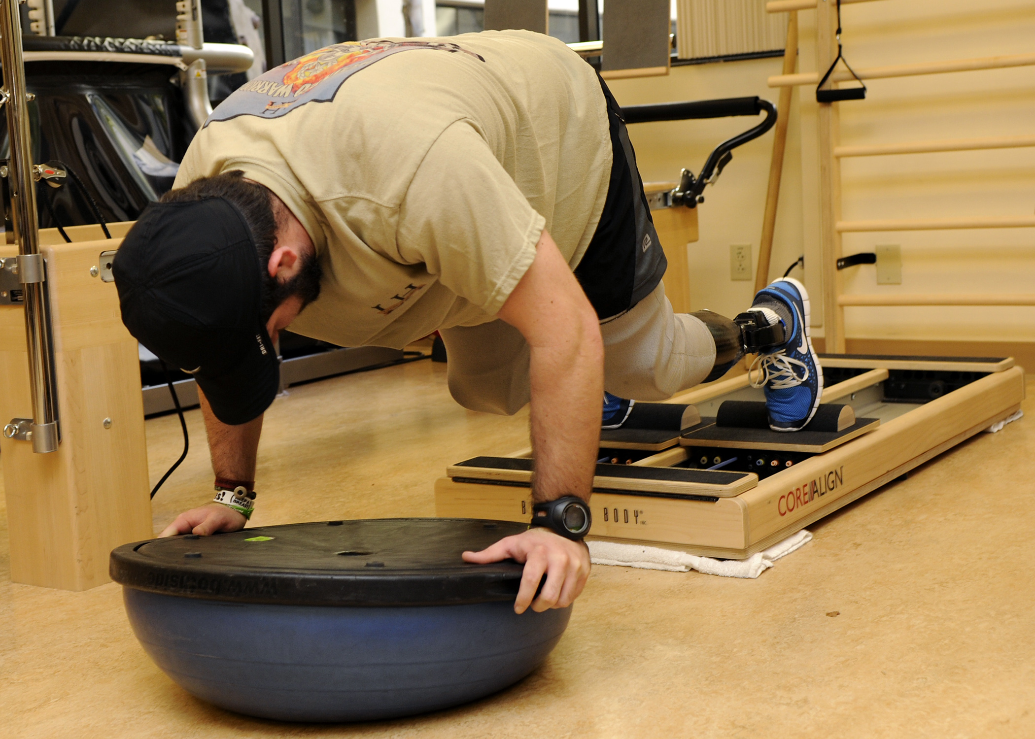 History of physical therapy - File Us Navy 110309 N Ub993 129 A Sailor Mountain Climbers Using
